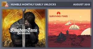Kingdom Come: Deliverance + Surviving Mars  (Steam) im Humble Monthly