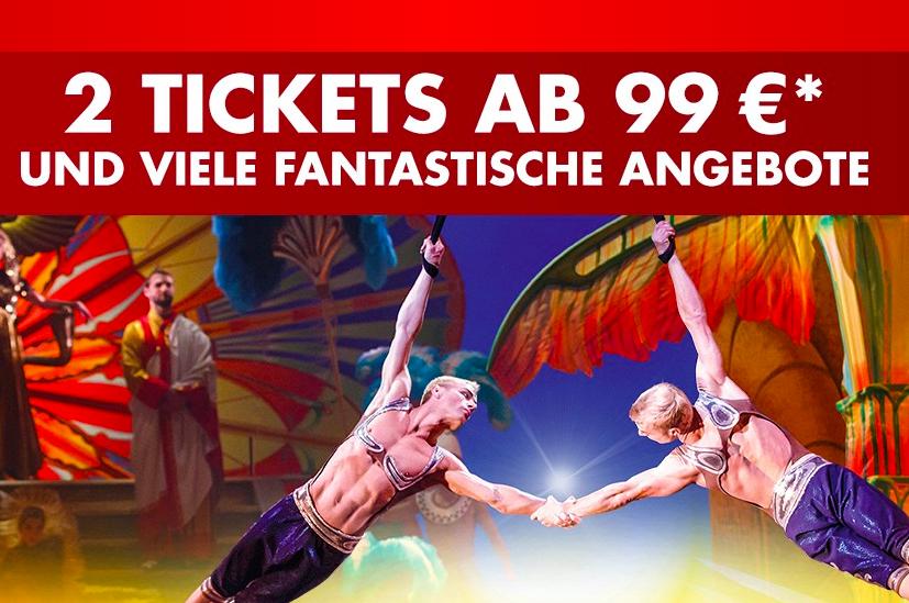 2 Tickets zum Musical ab 99€ in Hamburg, Berlin und NRW