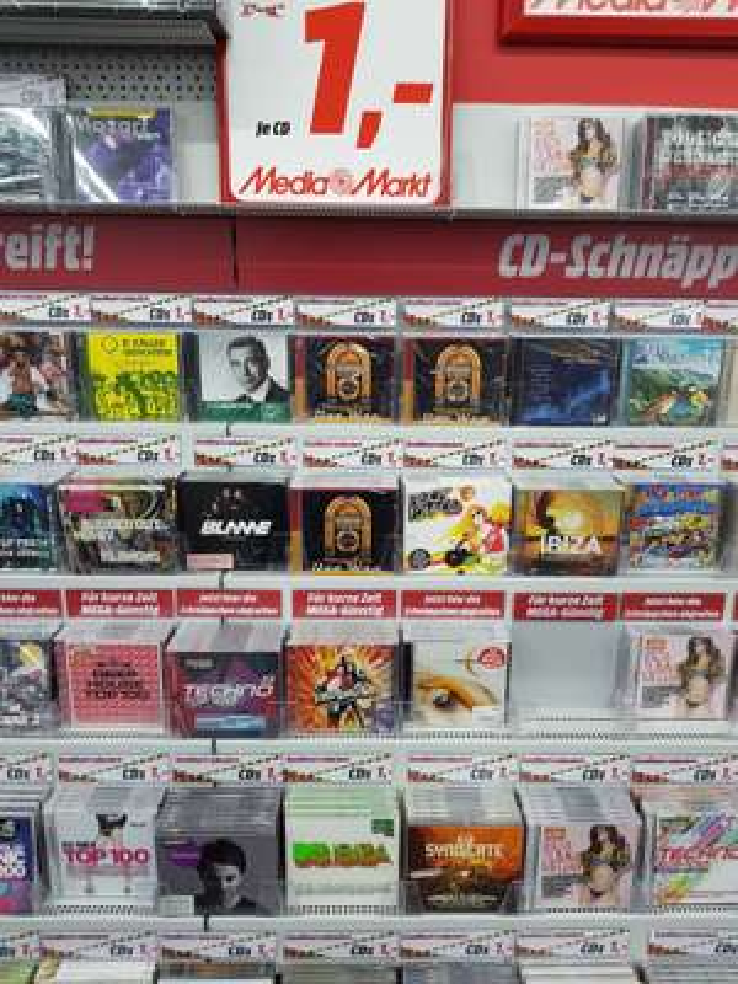 [Local] Mediamarkt Magdeburg  - 1€ für diverse CD's