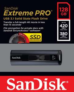 SanDisk Extreme PRO 128GB Solid State USB-Flash-Laufwerk USB 3.1 - Amazon