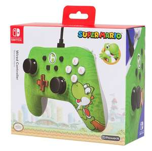 PowerA Nintendo Switch Wired Controller (Yoshi & Bowser & Donkey Kong) für je 19,99€ (GameStop)