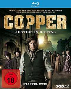 Copper: Justice is brutal - Staffel 2 (Blu-ray) für 7,99€ (Amazon & Saturn & Media Markt)