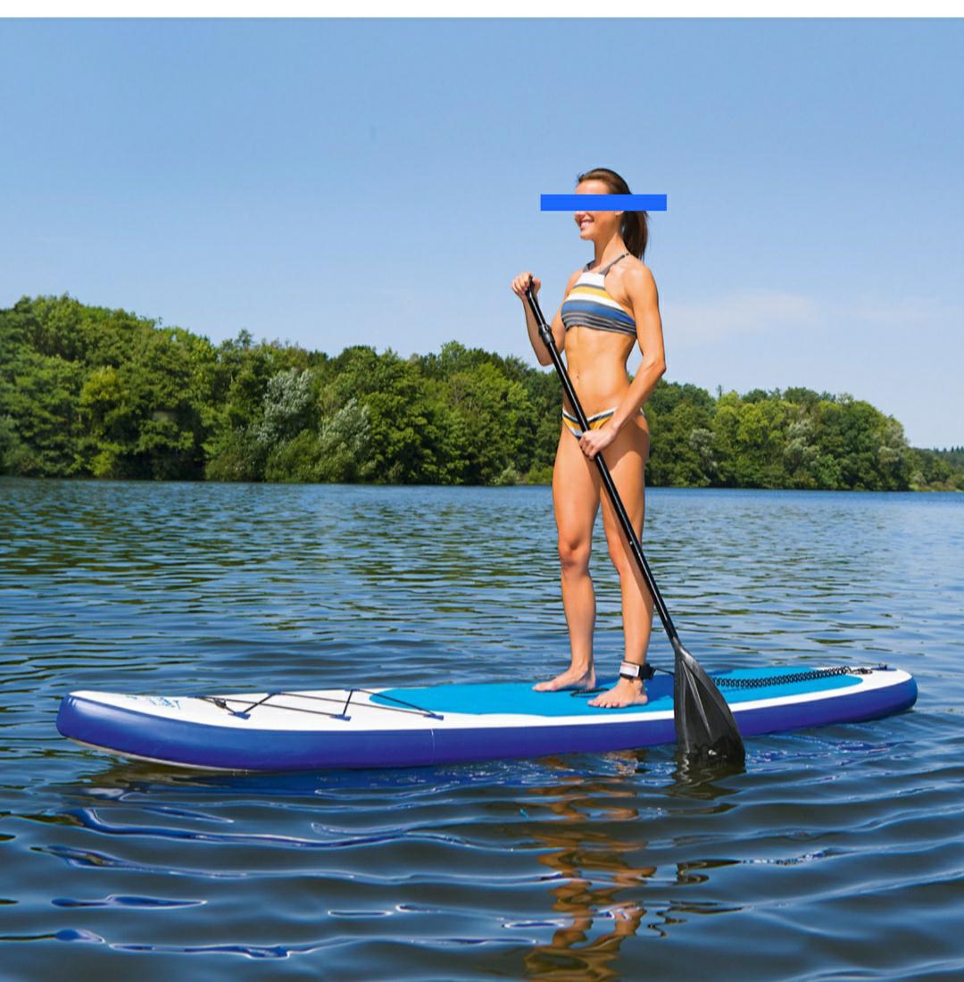 Stand Up Paddel Board - SUP mit Zubehör bei Netto MD