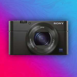 Sony Cyber-shot DSC-RX100 Mark III: Zeiss Digitalkamera - 20,1 Megapixel - 2,9X optischer Zoom