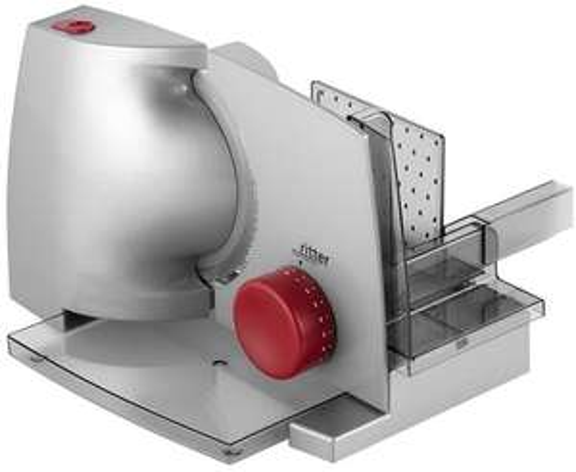 Allesschneider/Aufschnittmaschinen von Ritter: Compact 1 Duo Plus - 76,49€ | E 18 Duo Plus - 93,49€ | Icaro 7 - 152,99€