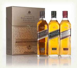 Johnnie Walker Explorers Club, Laphroaig An Cuan Mor/ 28/ Four Oak, Glenglassaugh Octaves, Glenmorangie Duthac... Whisky