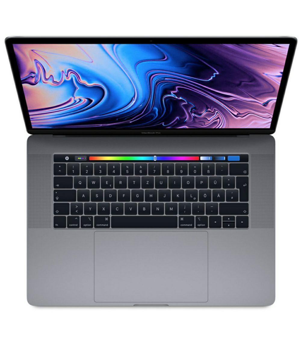 """MacBook Pro 15"""" 2019 mit i7, 16GB RAM, 256GB SSD, Touchbar in SpaceGray + ggfs. Superpunkte"""