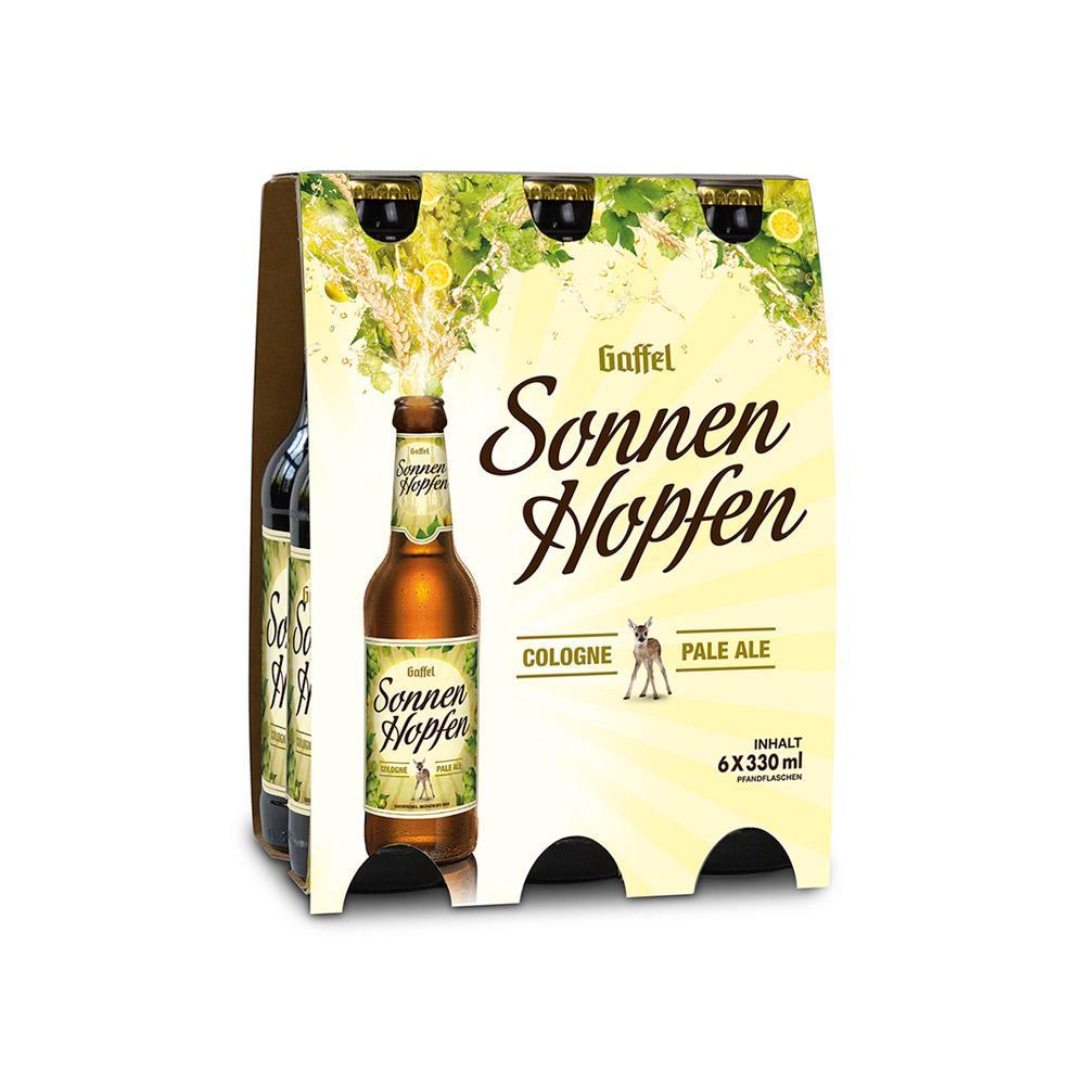 Gaffel SonnenHopfen 6 x 0,33l Cologne Pale Ale Bier bei [Rewe] ab 08.07. / vermutlich nur regional