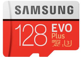 [Saturn] SAMSUNG Evo Plus 128GB microSDXC Speicherkarte (Class 10, U3, 100 MB/s Lesen, 90 MB/s Schreiben) versandkostenfrei