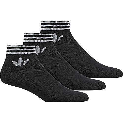 [Amazon Prime] 3er Pack adidas Trefoil ANK STR Socks schwarz (Vorbestellung)
