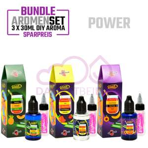 [dampftbeidir.de] Big Mouth Aromen Sets je 3x 30 ml