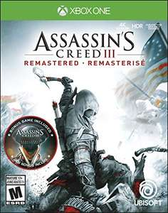 Assassin's Creed III Remastered (Xbox One) & Assassin's Creed Odyssey (Xbox One & PS4) für je 22,50€ (Amazon US)