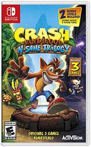 Crash Bandicoot N. Sane Trilogy (Switch) für 22,36€ (Amazon US)