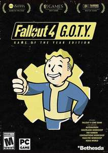 Fallout 4 Game of The Year Edition (Steam) für 8,99€ (CDKeys)