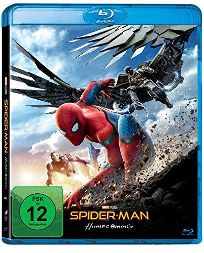 Spider-man Homecoming Blu-ray