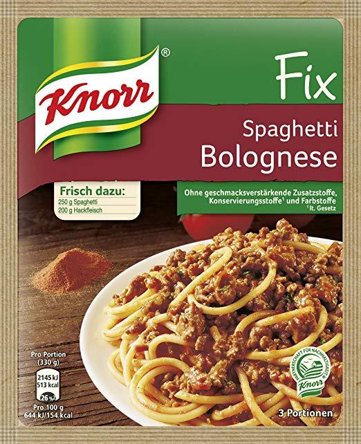 [Edeka] Knorr Fix oder Knorr Natürlich Lecker