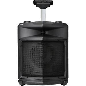 LG LOUDR RK3 Mobiler Lautsprecher (mit Akkubetrieb und Transportrollen) schwarz