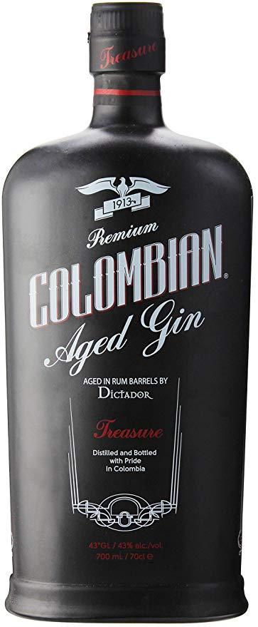 Dictador Colombian Aged Gin Treasure 0,7l 43 Vol.-% bei [Rakuten] mittels Masterpass-Gutschein