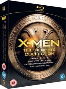 X-Men: Ultimate Collection UK Blu-ray für 18,43 @ ZAVVI.COM