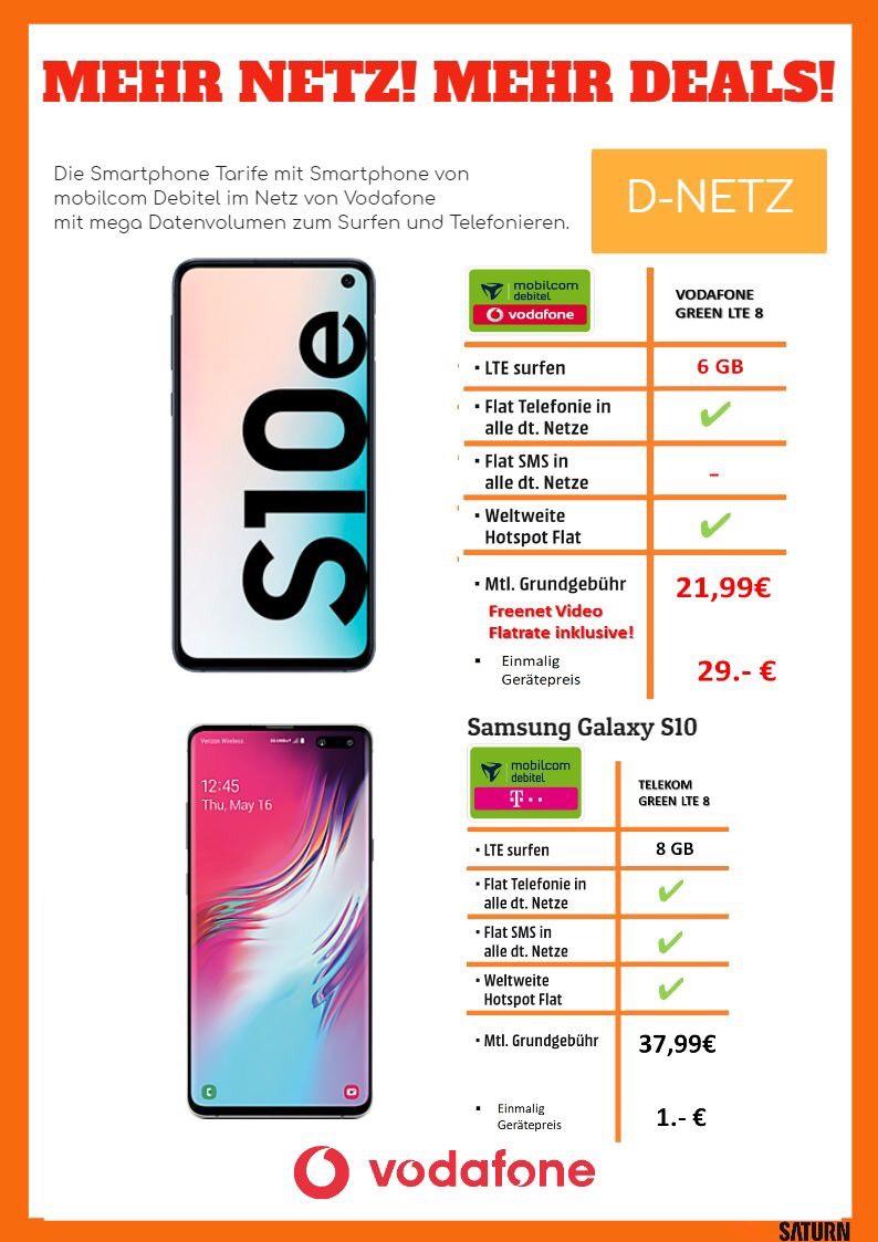 (Lokal Chemnitz) Samsung Galaxy S10E + 6GB LTE VF