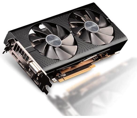 AMD Sapphire Radeon RX 590 PULSE 8G 8GB Grafikkarte Freesync  1x DVI, 2x HDMI 2.0b, 2x DisplayPort 1.4