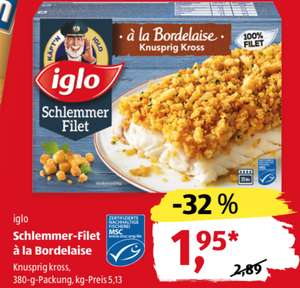 iglo Schlemmer-Filet à la Bordelaise [ALDI]