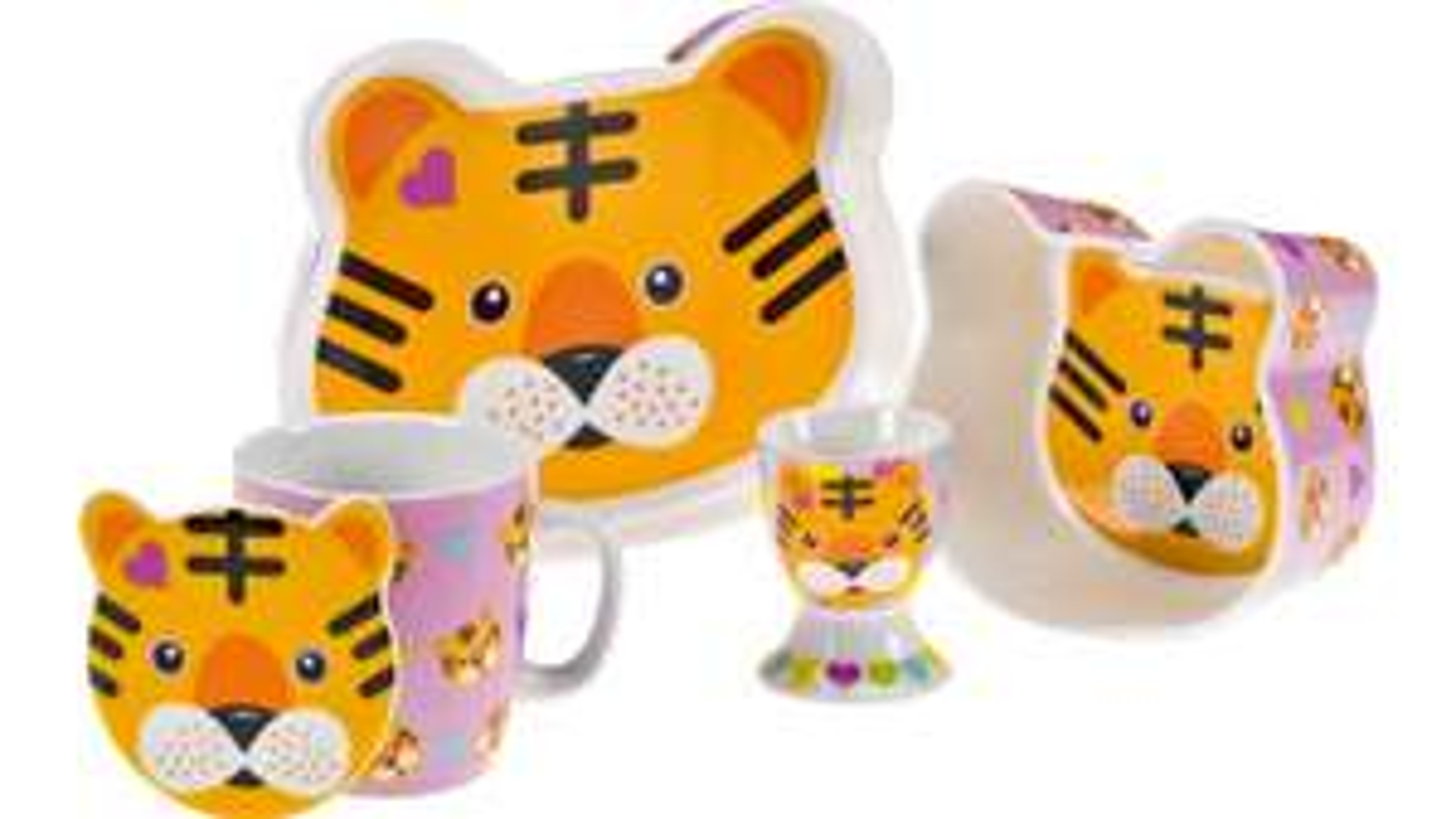 [Müller Onlineshop] Maxwell & Williams 5-teiliges Kinderset Roary Tiger