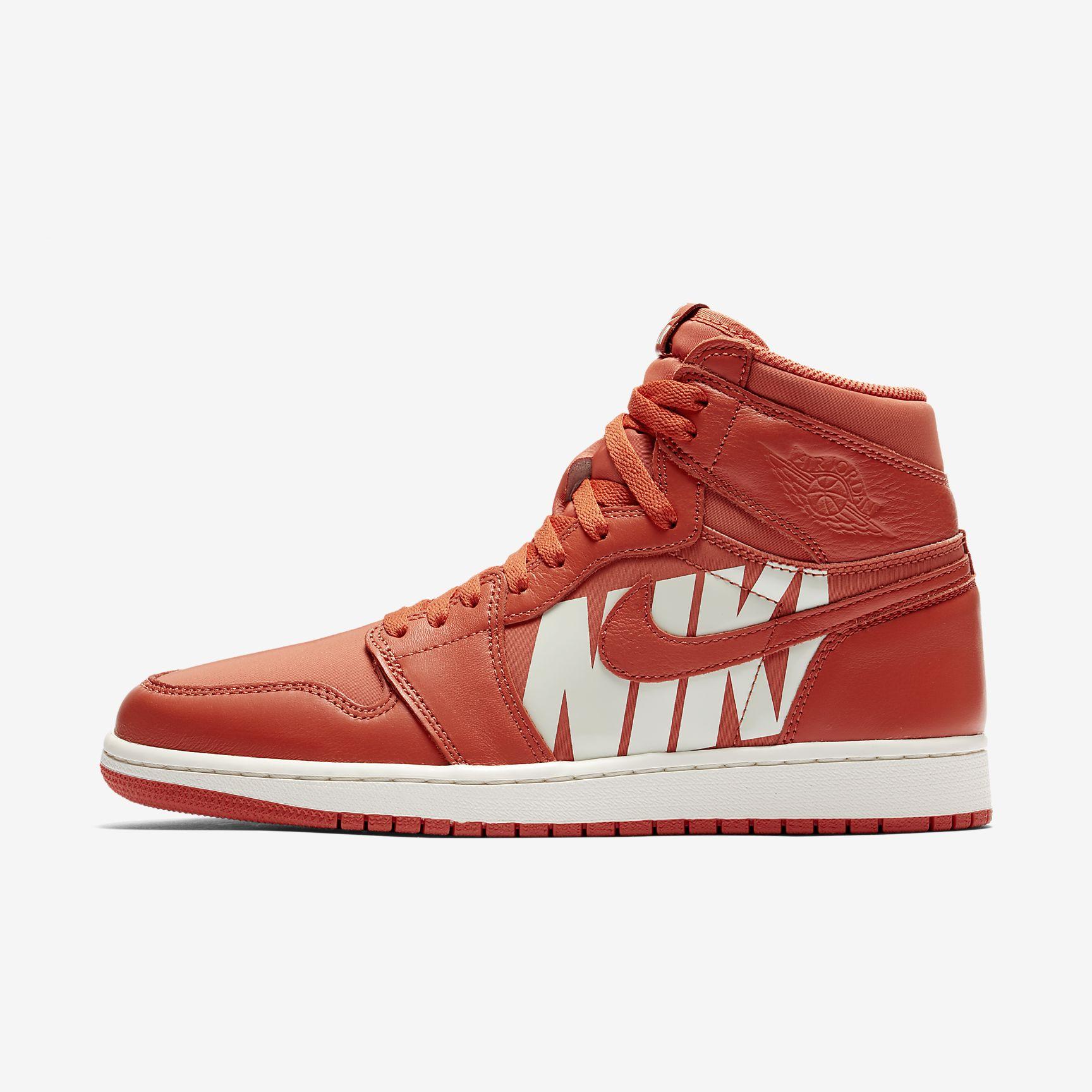 NIKE Air Jordan 1 Retro High OG Herren in rot oder olive