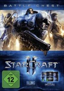 Starcraft II: Battle Chest 2.0 (Heart of the Swarm + Wings of Liberty + Legacy of the Void) (PC) für 11,14€ (CDKeys)