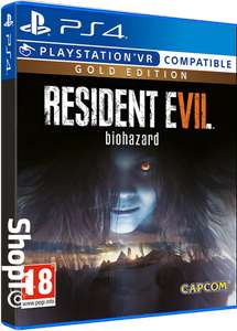 Resident Evil 7 Gold Edition (PS4) für 18,80€ (Shopto)