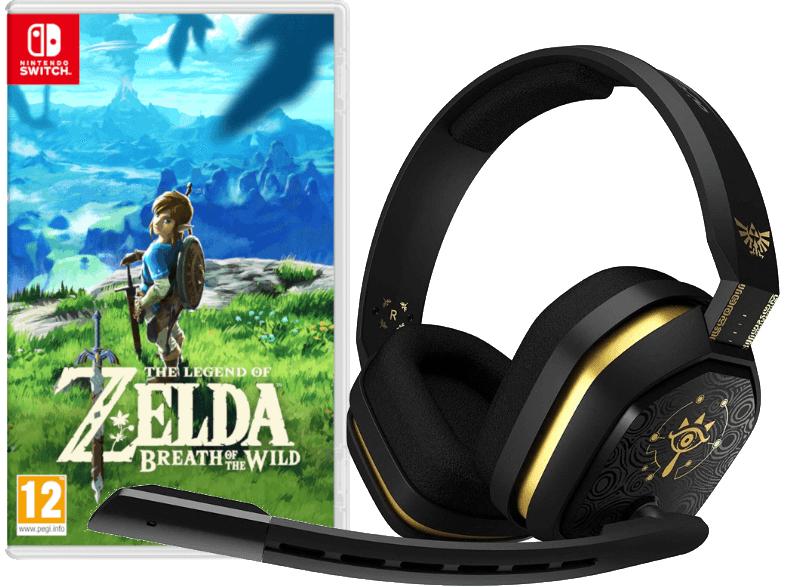 The Legend of Zelda: Breath of the Wild (Switch) + Astro A10 Gaming Headset für 71€ inkl. Versand nach DE (Saturn AT)