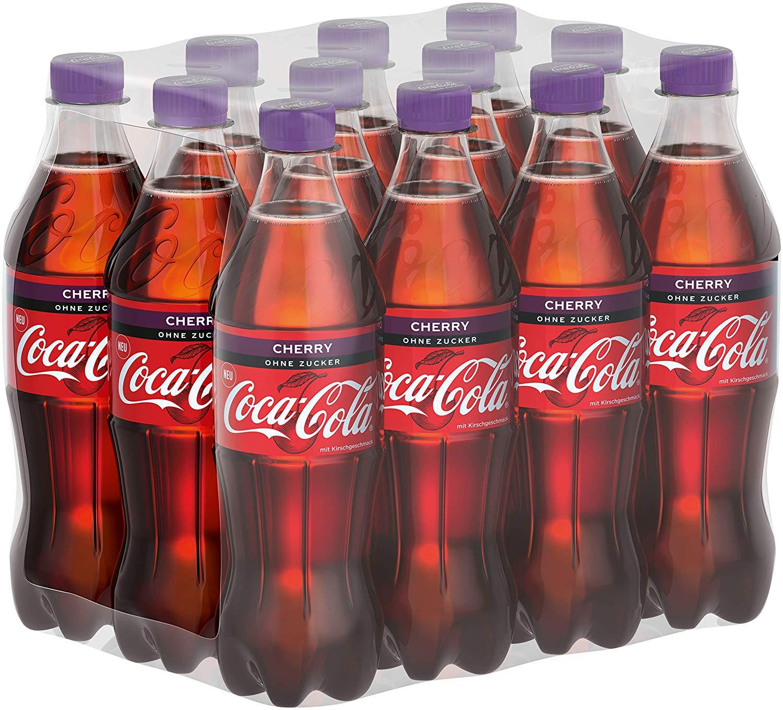 [Amazon Prime] Coca-Cola Zero Sugar Cherry - 12x0,5l, zzgl. Pfand