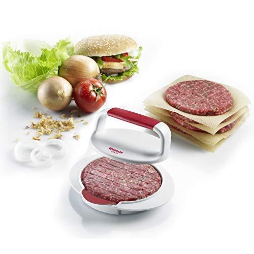 Westmark Hamburgermaker mit Patty-Hebevorrichtung, Hamburger-Presse
