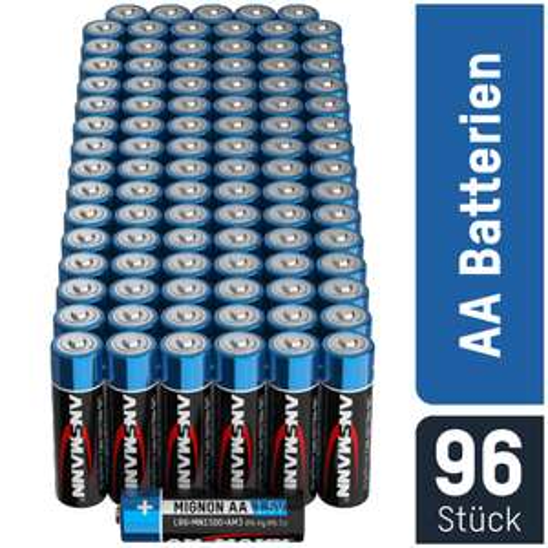 96 Ansmann Ultimate Mignonzellen (AA) für 16,99€ oder 96 Ansmann Ultimate Microzellen (AAA) für 14,99€ [Mobile Energy]