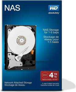 "Western Digital Red Network NAS Retail interne Fesplatte 3.5"" - 4TB (Amazon.es)"