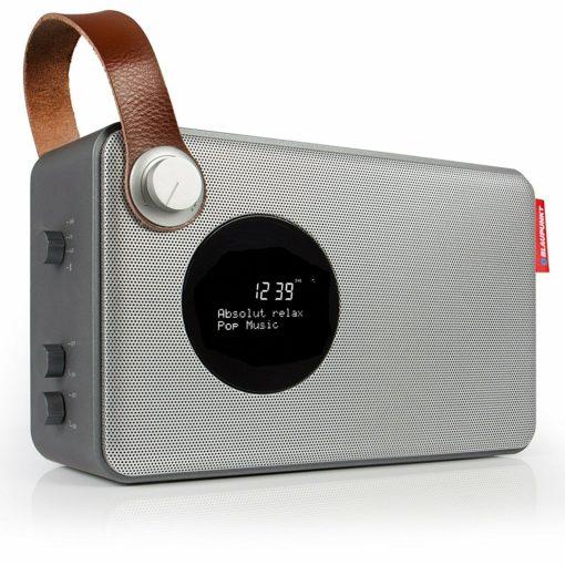 Digitalradio Blaupunkt RXD 34 (DAB+, UKW, Bluetooth 2.1, NFC, MP3, Li-Ionen-Akku für ~3 Stunden, Display, Uhr/Wecker, Teleskopantenne)