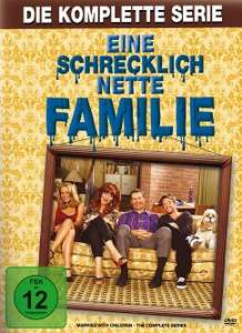 Eine schrecklich nette Familie - Die komplette Serie (33 DVDs) für 25,99€ (Bücher.de Masterpass)