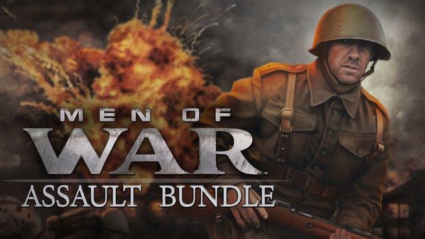 Men of War Assault Bundle mit 12 Steam Keys für 3,35€