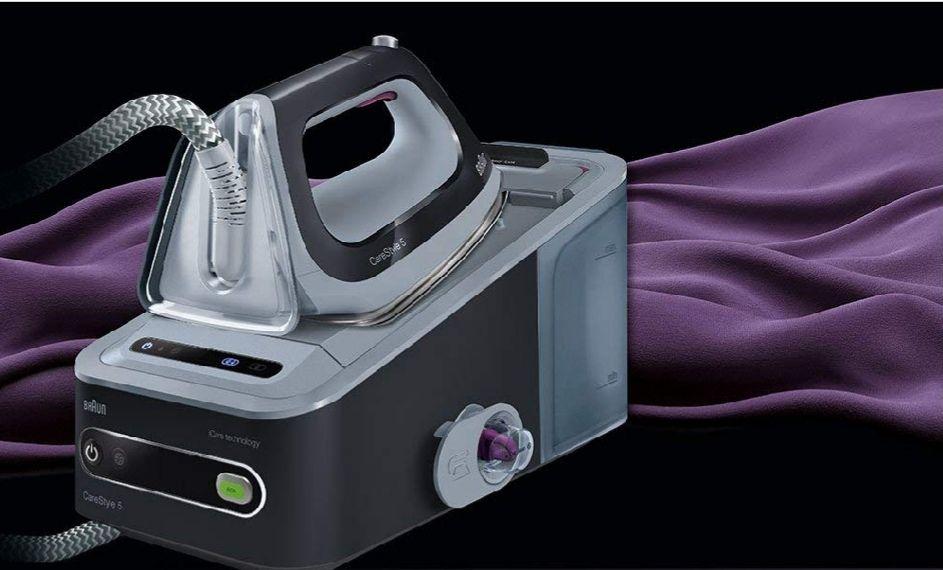 Braun CareStyle 5 IS 5044 Dampfbügelstation, 2.400 W, 6,5 bar, Dampfstoß: 360 g/min