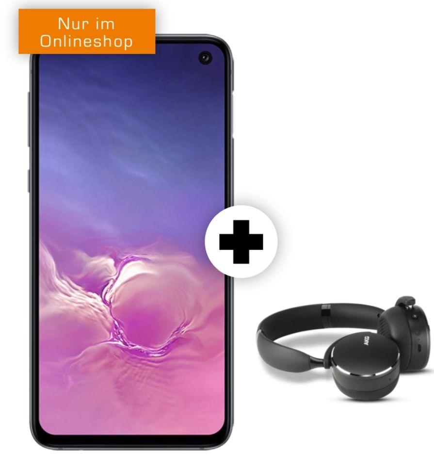 Samsung Galaxy S10e und Kopfhörer AKG Y500 im Debitel Vodafone oder Telekom (6GB LTE/Allnet) für 21,99€ mtl.