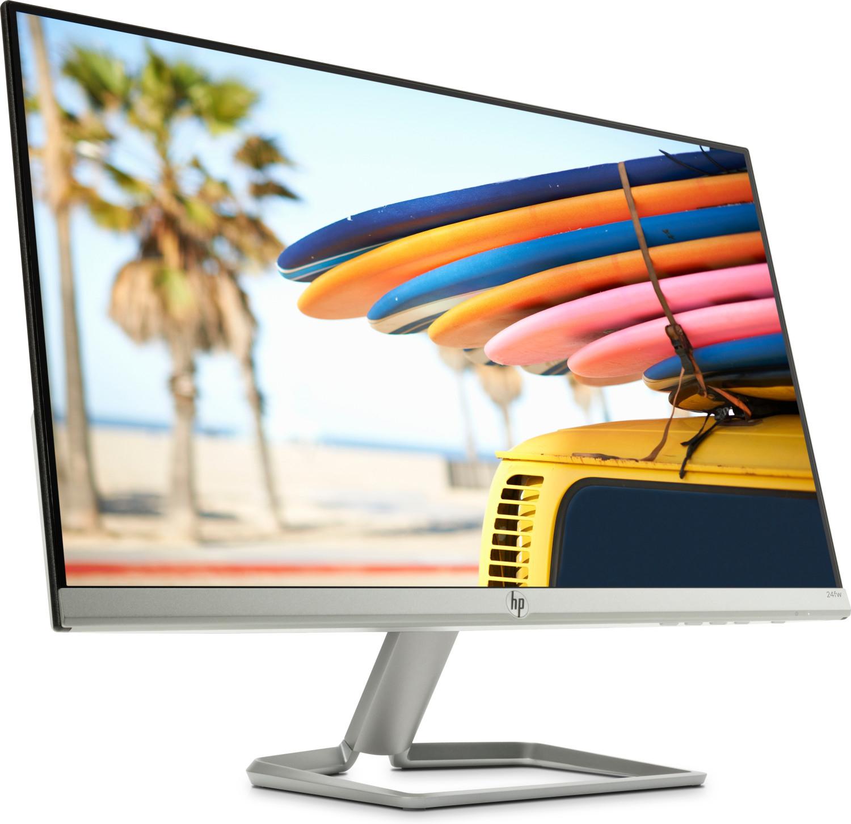 """HP 24fw (23.8"""", IPS, FHD, 6bit+FRC, 300 cd/m², 60Hz, FreeSync, HDMI, VGA, Blaulichtfilter, neigbar, Kensington-Schloss)"""