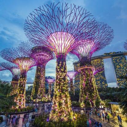 Flüge nach Singapur inkl. Gepäck hin und zurück von Frankfurt (August - Oktober) ab 385€