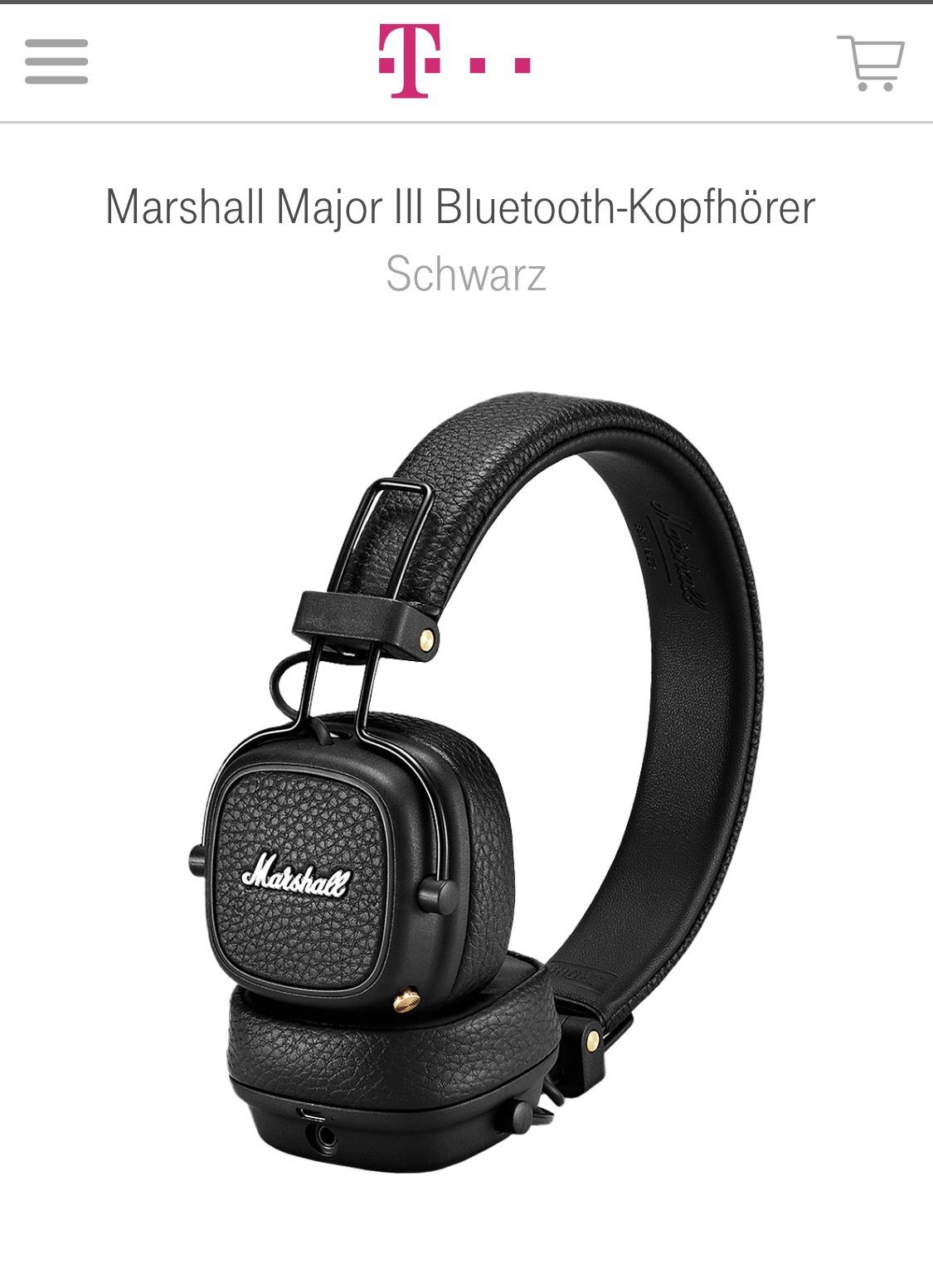 Marshall Major III Bluetooth-Kopfhörer