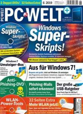 PC Welt Premium (inkl. 4 DVDs) Abo (6 Ausgaben) für 46,20 € mit 50 € BestChoice oder 45 € Amazon-Gutschein