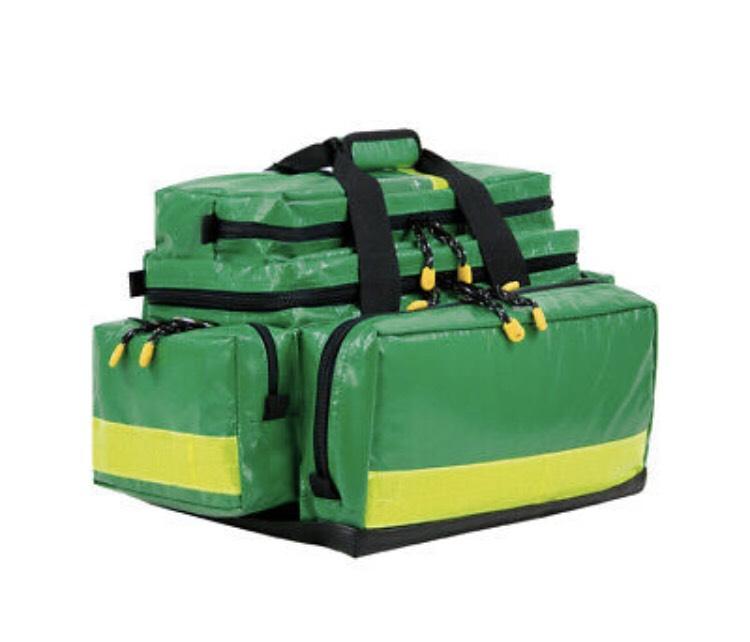 BEXAMED Notfalltasche Grün aus Planenmaterial