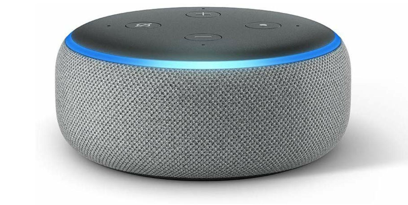 2 x Echo Dot (3. Gen.) Mit Alexa in hellgrau // 1 x für 24,95€