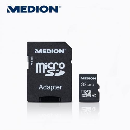 micrSDHC 32 GB Class 6 mit Adapter