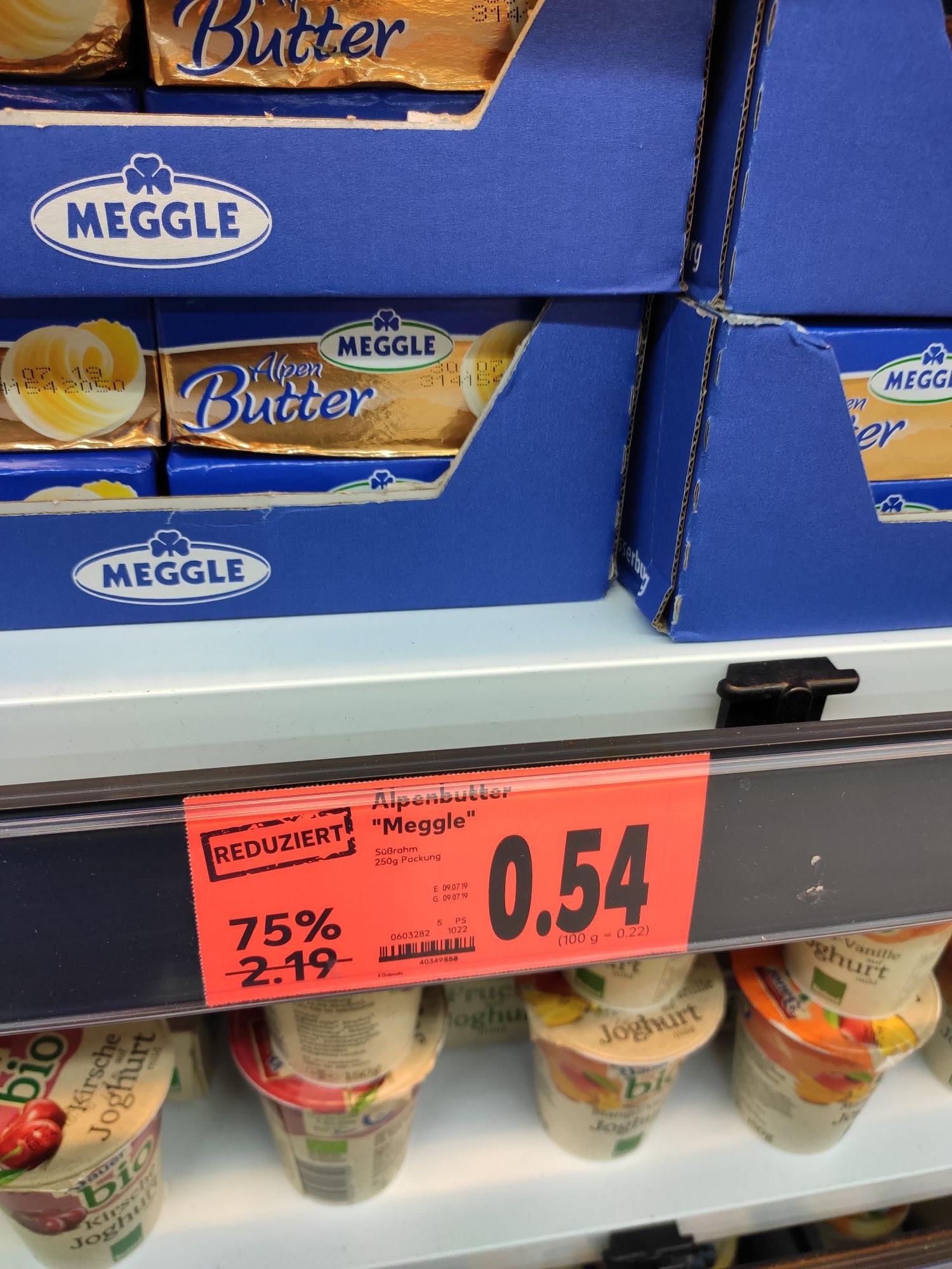 [Kaufland Merzig] Meggle Butter 0,54€