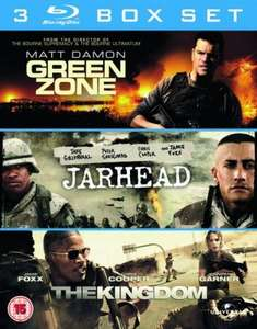 Blu-Ray - Green Zone & Jarhead & The Kingdom (3 Discs) für €12,26 [@Zavvi.com]