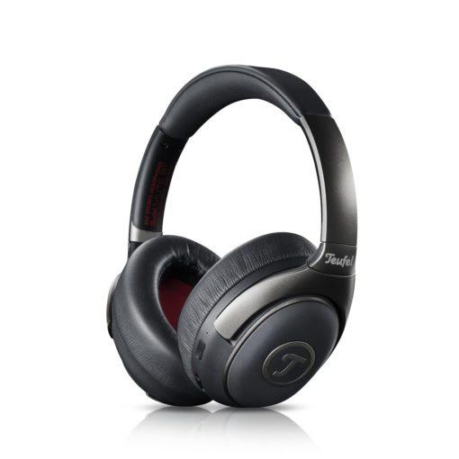 ANC-Kopfhörer Teufel Mute BT (Over-Ear, geschlossen, Bluetooth 4.0, Klinke, ~28h Akku, Mikrofon, 240g) [Neuware in geöffneter OVP]